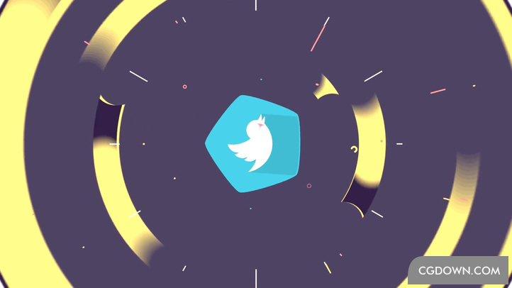 自媒体mg动画视频栏目片头logo