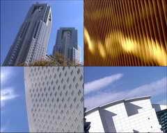 高楼,大厦,时间流逝,白云,房地产,现代建筑视频素材影视模板