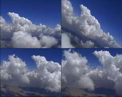 蓝天,白云,天空上方,云端,飞翔,飞行,阳光,云彩视频素材影视模板