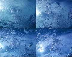 水珠,水泡,游泳,夏天,晴天,水下摄影,太阳,阳光视频素材影视模板