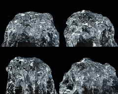 水,力量,趵突泉,水源,慢镜头