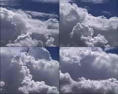 蓝天,白云,时间流逝视频素材影视模板