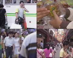 人物,东方,上海,步行街,繁荣,超市,人群,出租车,购物,饮食,旅游视频素材影视模板