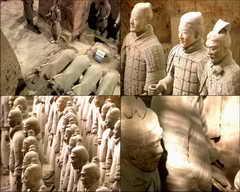 兵马俑,世界八大奇迹,秦始皇陵,西安,骊山,文物视频素材影视模板