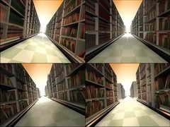 教育,书架,图书馆,知识,图书长廊