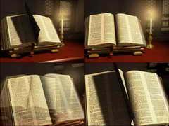 书籍,学习,翻书,圣经,神圣