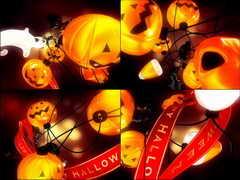 南瓜灯,万圣节,鬼怪,吓人