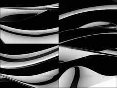黑色金属质感