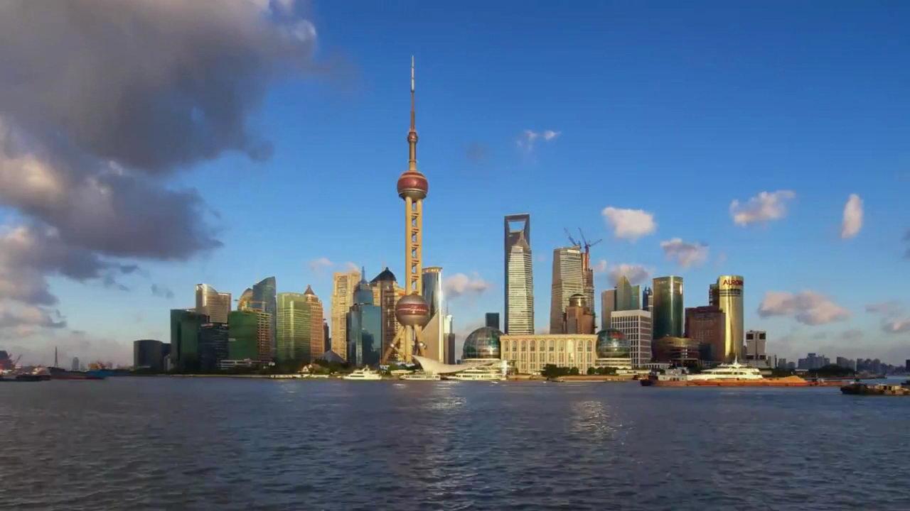 上海外滩,上海城市发展