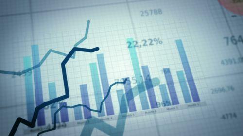 财务增长曲线数据报表图形,财务,报表