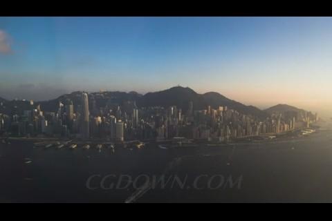 城市发展,人文,气息,一些,台湾,马来西亚,北上,香港,视频素材