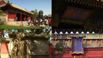 颐和园东大门,铜狮