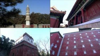 颐和园万寿山,颐和园,古典建筑,城墙
