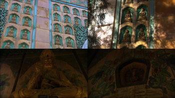 颐和园智慧海神庙,佛像墙壁,颐和园,寺庙