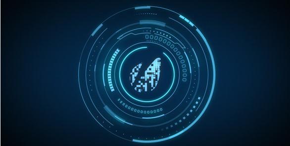 科技幻象能量标志,标志视频素材