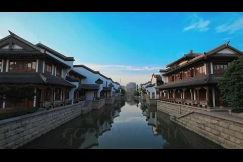 常州特色景区拍摄,常州经济,常州文化,春秋淹城,龙雕塑