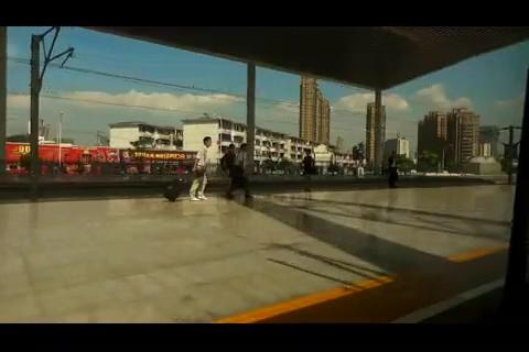 在上海到南京的和谐动车上随拍的视频,和谐号,动车,高铁