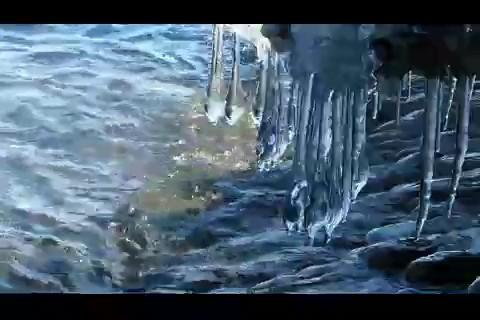 冰雪,融化,海洋,冰凌,冰床,春天