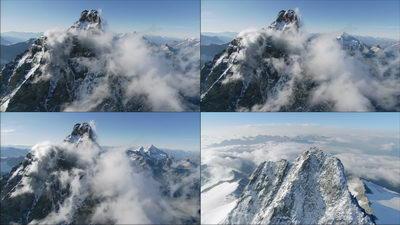 喜马拉雅山脉,山峰,飞跃山峰