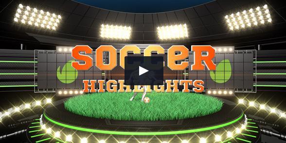 足球栏目片头,栏目表,成绩,字幕版式,人物介绍视频素材