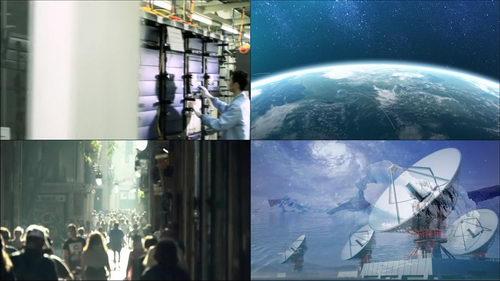 机房,数据中心,地球,稻谷,时代发展,接收卫星信号,自然之美
