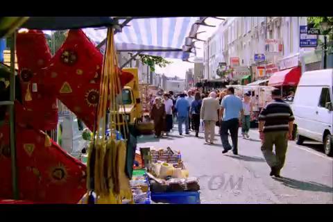 文化,城市,人群,集市,欧美,视频素材