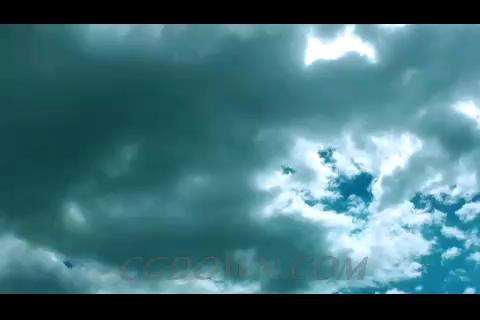 流动的云彩,云彩,多云天气