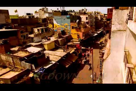 印度,延迟摄影,城市,日出,朝阳