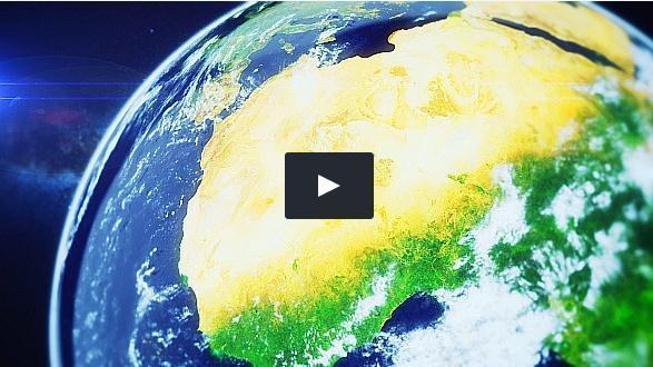 6组从太空飞入地球内部的视频