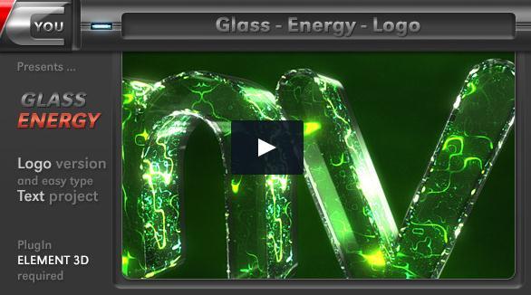 logo,科技,能量,能源,液体,玻璃,视频素材