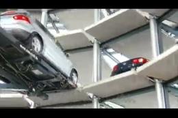 大众公司立体停车库,汽车