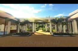 高档生活海边度假村3D动画漫游