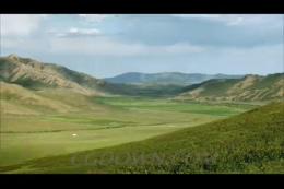 蓝天白云大草原