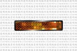 无线循环的璀璨旋转镜面横幅字幕版式,T24