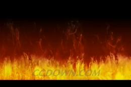 熊熊燃烧火焰,火焰,火