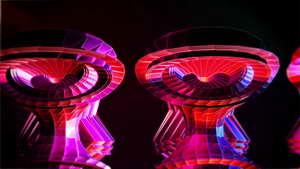 绚丽舞蹈能量动感摇滚vj背景