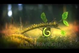logo,演绎,春天,片头,树叶,发芽,生长,春暖花开,视频素材