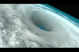 从外太空看地球风眼,飓风,龙卷风,灾难