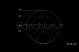 hud科技运算分析动态线条,hud