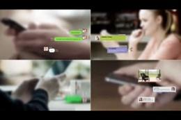 社交聊天软件中气泡对话框素材