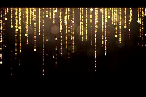 金色粒子闪烁垂帘幕,金色,帘