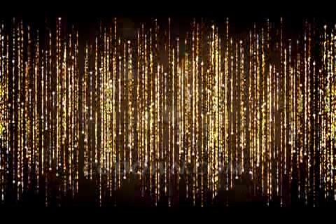 <b>金色粒子闪烁垂帘幕,金色,帘</b>