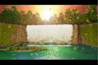 婚礼现场香槟塔背景视频