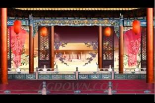 <b>中式婚礼现场背景</b>