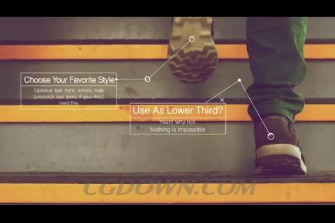 简洁时尚的产品介绍对话框,介绍