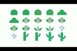 90种卡通植物动漫图形