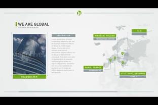 企业,绿色,全球,展示,业务,科技,能源,整套,视频素材