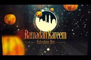 栏目,套装,斋月,开斋节,阿拉伯语,伊斯兰教,视频素材