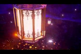 灯笼,logo,演绎,标志,月亮,浪漫,夜幕,视频素材