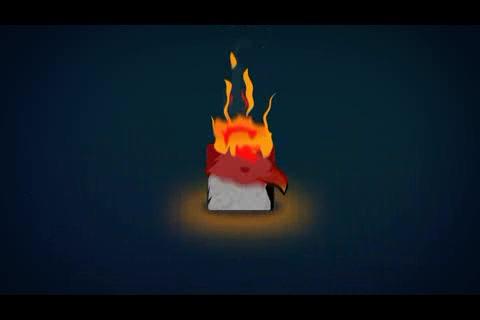 动漫火焰logo演绎,火焰,logo视频素材影视模板